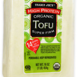 Trader Joe's High Protein Organic Super Firm Tofu