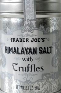 Trader Joe's Himalayan Salt with Truffles
