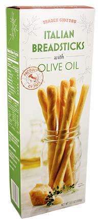 Trader Joe's Italian Breadsticks with Olive Oil