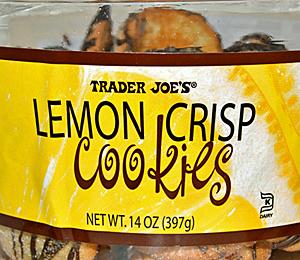 Trader Joe's Lemon Crisp Cookies