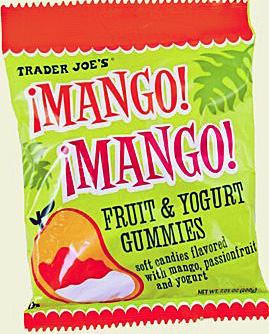 Trader Joe's Mango Fruit & Yogurt Gummies