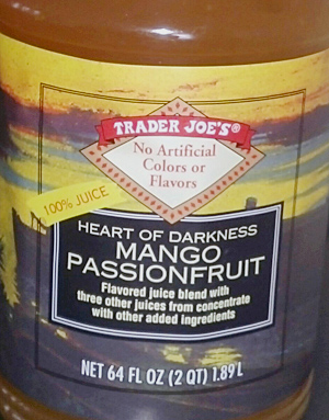Trader Joe's Mango Passion Fruit Blend Juice