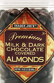 Trader Joe's Milk & Dark Chocolate Covered Almonds