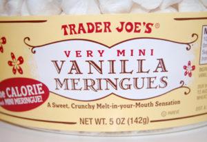 Trader Joe's Mini Vanilla Meringues