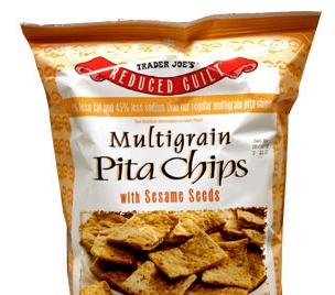 Trader Joe's Reduced Guilt Multigrain Pita Chips
