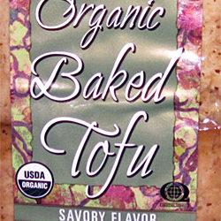 Trader Joe's Organic Baked Tofu Savory Flavor