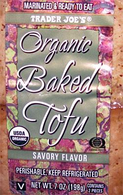 Trader Joe's Organic Baked Tofu Savory Flavor Reviews