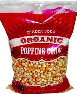 Trader Joe's Organic Popping Corn