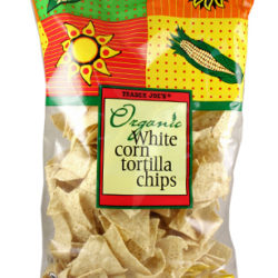 Trader Joe's Organic White Corn Tortilla Chips