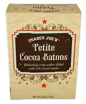 Trader Joe's Petite Cocoa Batons