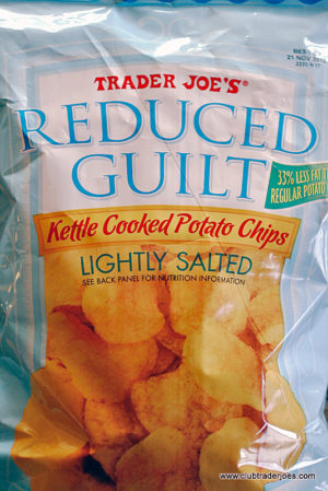 Trader Joe's Reduced Guilt Lightly Salted Kettle Cooked Potato Chips