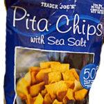 Trader Joe's Sea Salt Pita Chips