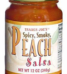 Trader Joe's Spicy Smoky Peach Salsa