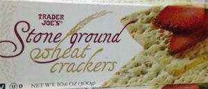 Trader Joe's Stone Ground Wheat Crackers