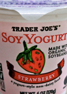 Trader Joe's Strawberry Soy Yogurt