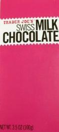 Trader Joe's Swiss Milk Chocolate