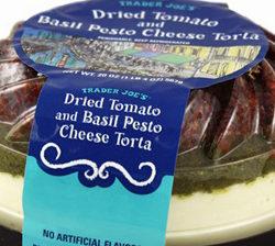 Trader Joe's Dried Tomato & Basil Pesto Cheese Torta