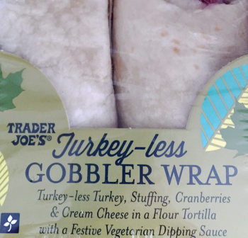Trader Joe's Turkey-Less Gobbler Wrap