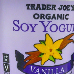 Trader Joe's Vanilla Soy Yogurt