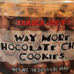 Trader Joe's Way More Chocolate Chip Cookies