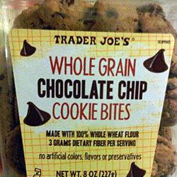 Trader Joe's Whole Grain Chocolate Chip Cookie Bites