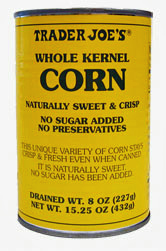 Trader Joe's Whole Kernel Corn