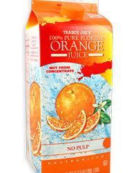 Trader Joe's 100% Pure Florida Orange Juice No Pulp