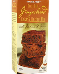 Trader Joe's Gingerbread Cake & Baking Mix