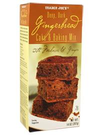 Trader Joe's Gingerbread Cake & Baking Mix