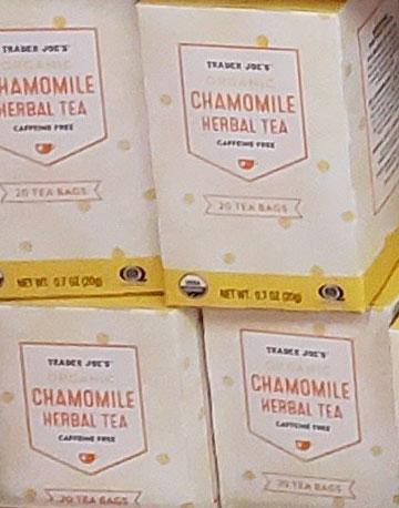 Trader Joe's Chamomile Herbal Tea