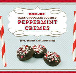 Trader Joe's Dark Chocolate Covered Peppermint Cremes