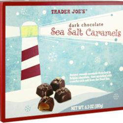 Trader Joe's Dark Chocolate Sea Salt Caramels