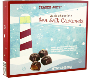 Trader Joe's Dark Chocolate Sea Salt Caramels