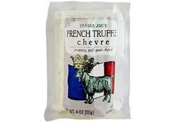 Trader Joe's French Truffle Chevre