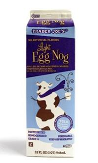 Trader Joe's Light Egg Nog