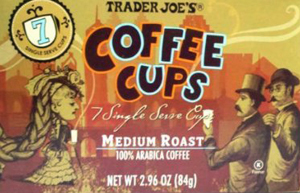 Trader Joe's Medium Roast Single Serve Coffee Cups