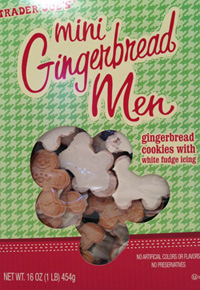 Trader Joe's Mini Gingerbread Men