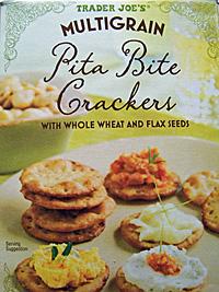 Trader Joe's Multigrain Pita Bite Crackers