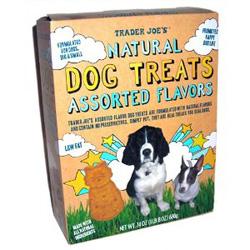 Trader Joe's Natural Assorted Flavors Dog Treats