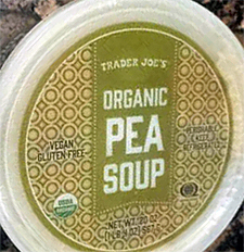 Trader Joe's Organic Pea Soup