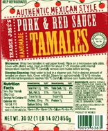 Trader Joe's Pork & Red Sauce Handmade Tamales Reviews