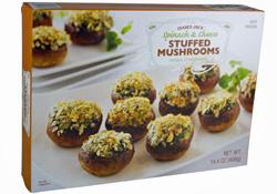 Trader Joe's Spinach & Cheese Stuffed Mushrooms