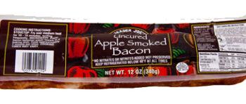 Trader Joe's Uncured Apple Smoked Bacon