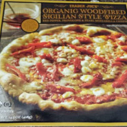 Trader Joe's Woodfired Sicilian Style Pizza