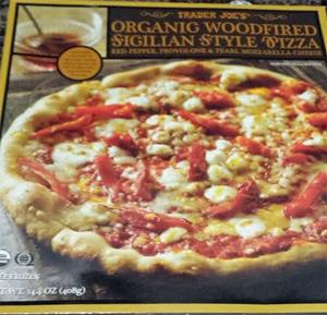 Trader Joe's Woodfired Sicilian Style Pizza