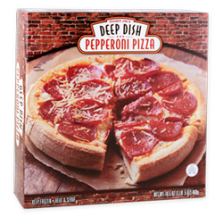 Trader Joe's Deep Dish Pepperoni Pizza