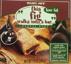 Trader Joe's Fig Walks Into A Bar