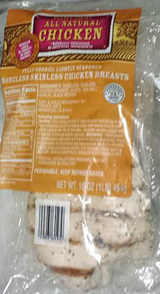 Trader Joe's Fully Cooked Lightly Seasoned Boneless Skinless Chicken Breasts