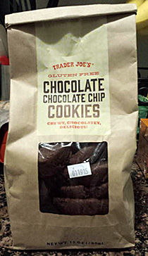 Trader Joe's Gluten-Free Chocolate Chocolate Chip Cookies