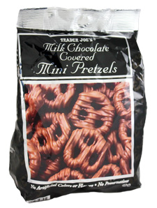 Trader Joe's Milk Chocolate Covered Mini Pretzels